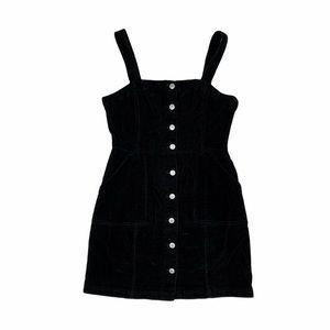 H&M Corduroy Button Up Dress